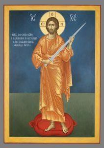 картинка Христос с мечом